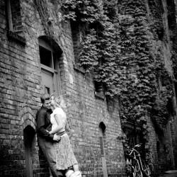 Award Winning Minneapolis MN Black and White Engagement Photo 2