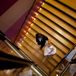 Bride and groom at Five Event Center in Minneapolis MN