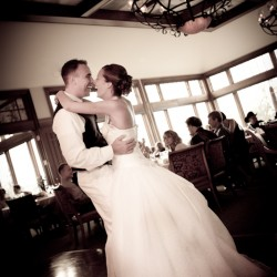 Wedding photograph of Bride and Groom first dance at the Tournament Players Club in Blaine MN